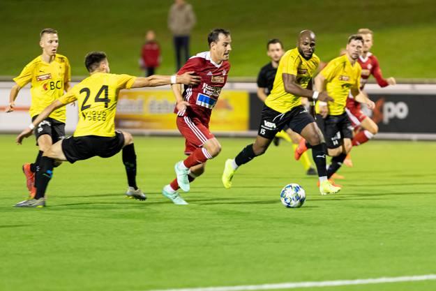 Bereits in der ersten Minute fiel der verhängnisvolle Treffer von Bassecour durch Nathan Garcia.