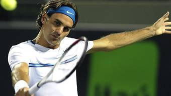 Auf Roger Federer wartet in Madrid ein hartes Stück Arbeit