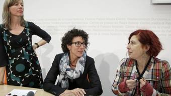 vlnr.: Christine Sieber, Franziska Maurer und Helene Huldi