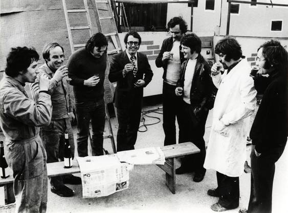 UNO-Inspektion am Wagenbau 1974