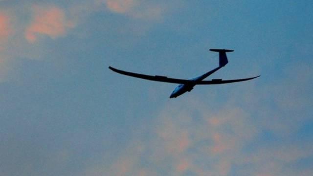 Beim Segelflugzeug fehlte nach dem Unfall ein Wiglet. (Symbolbild)
