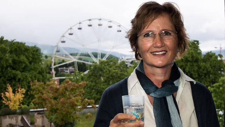 Lädt das Limmattal nach Urdorf ein: Sandra Rottensteiner weiss, was Dorffeste bedeuten.
