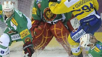 Farbspektakel in Langnau: grüne Tiger gegen gelbe Bündner