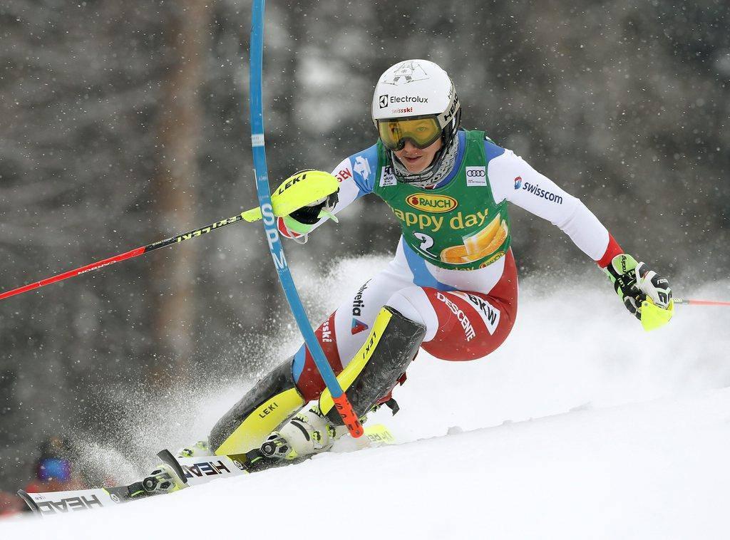 Holdener wird Zweite in Maribor