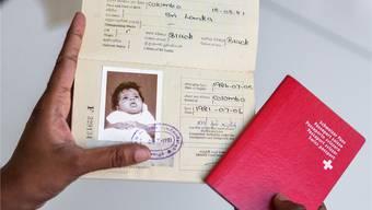 Im srilankischen Pass von Olivia Tanner steht Colombo als Geburtsort. In der Geburtsurkunde hingegen Ratnapura.