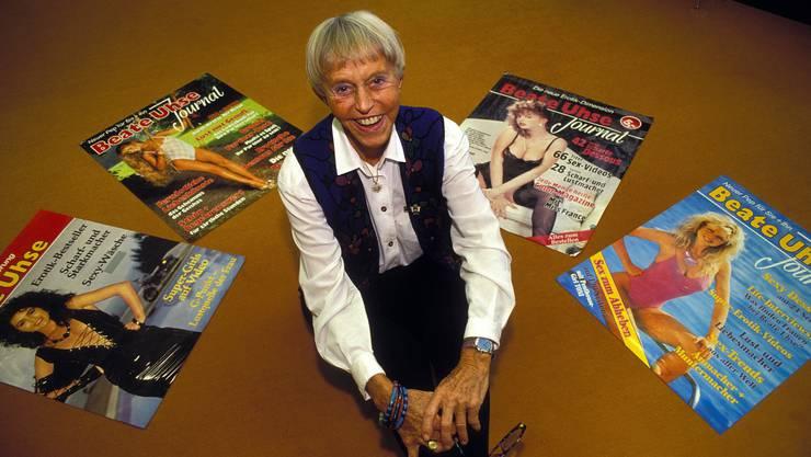Dominierte die Erotikbranche: Beate Uhse im Jahr 1992.