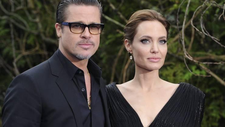 Weil sie ihre Besitzverhältnisse vor der Ehe gut geregelt haben, wird die güterrechtliche Auseinandersetzung bei der Scheidung von Brad Pitt und Angelina Jolie anscheinend unproblematisch. (Archivbild)
