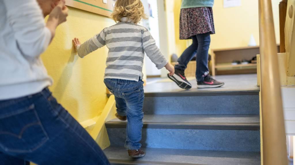 Bei der Kinderbetreuung sieht der Bundesrat die Kantone in der Pflicht