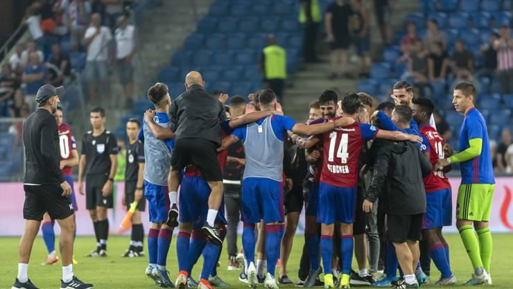 Der FC Basel gewinnt gegen PSV Eindhoven mit 2:1.