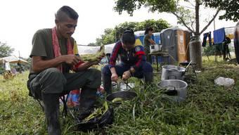 Ehemalige Farc-Kämpfer von Kolumbien
