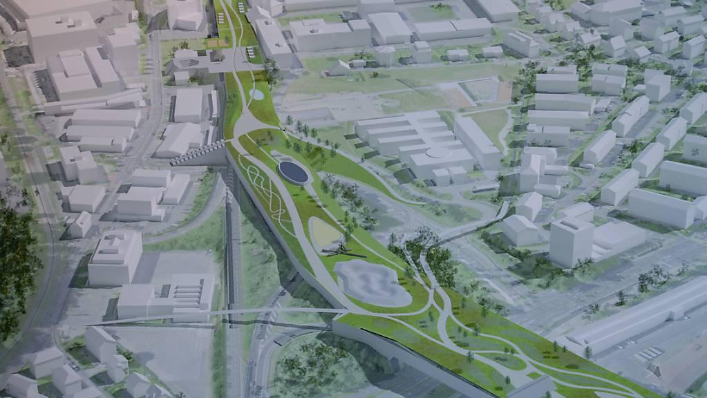 Die Stadt Kriens fordert beim Strassenprojekt Bypass eine Verbesserung durch Überdachung auf ihrem Gebiet.