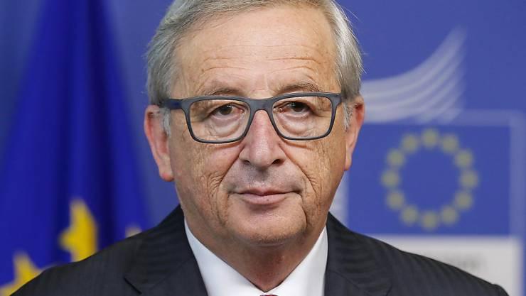 Für ihn ist ein Ausscheiden Griechenlands aus der Euro-Zone kein Thema mehr: EU-Kommissionschef Jean Claude Juncker. (Archivbild)