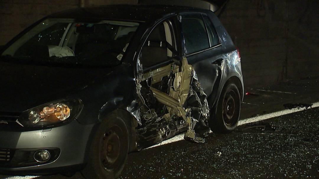 Uster: Zwei Verletzte bei Verkehrsunfall