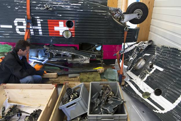 Beim Absturz einer Tante Ju sterben im August im Kanton Graubünden 20 Menschen.