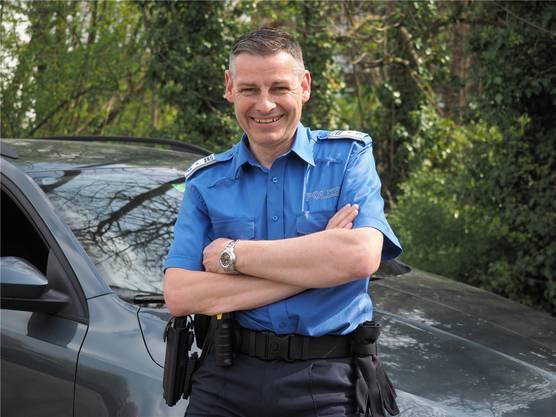 Werner Bertschi; Leiter Regionalpolizei Oberes Fricktal
