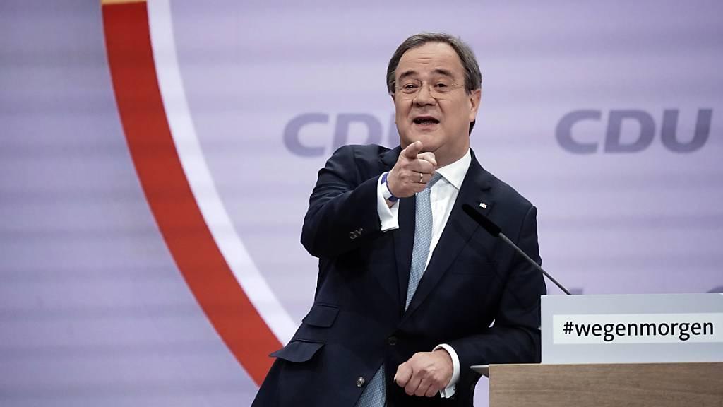 Armin Laschet neu an der Spitze der CDU