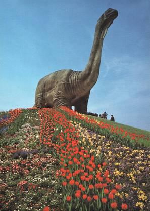 Steht für Vergänglichkeit: der Dino.
