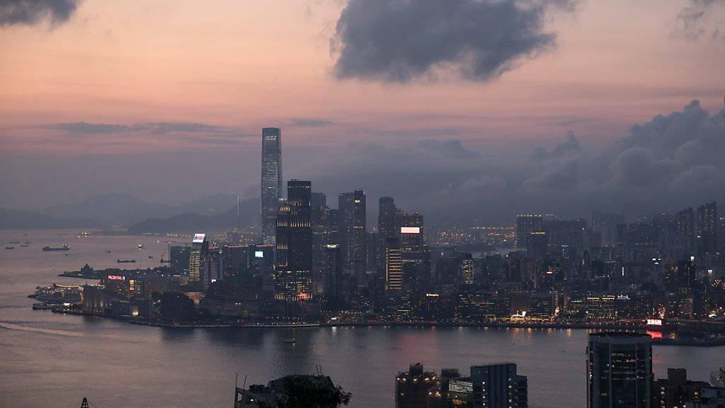 Die USA verlangen die Herausgabe von Unterlagen, wonach chinesische Banken über Hongkong angeblich Geschäfte mit Nordkorea gemacht und damit gegen Sanktionen verstossen haben. (Archivbild Hongkong)