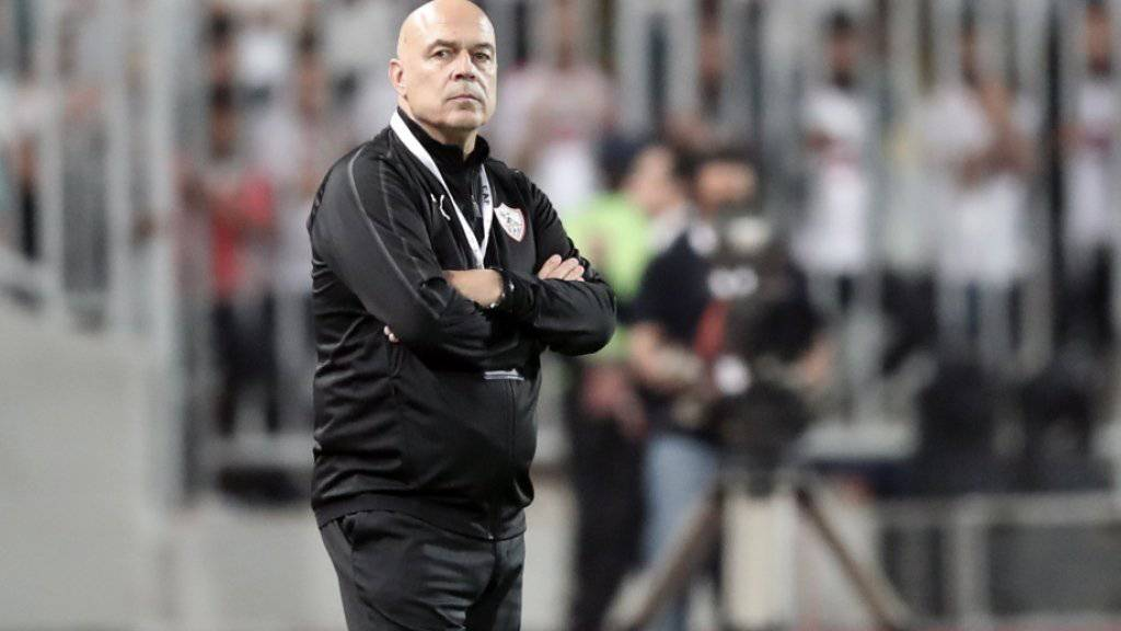 Christian Gross, der frühere Meistertrainer von Basel und GC, erweitert mit Zamalek Kairo seine Trophäensammlung