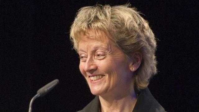 Kann auf die Stimmen der Grünen Fraktion zählen: Bundesrätin Eveline Widmer-Schlumpf (Archiv)