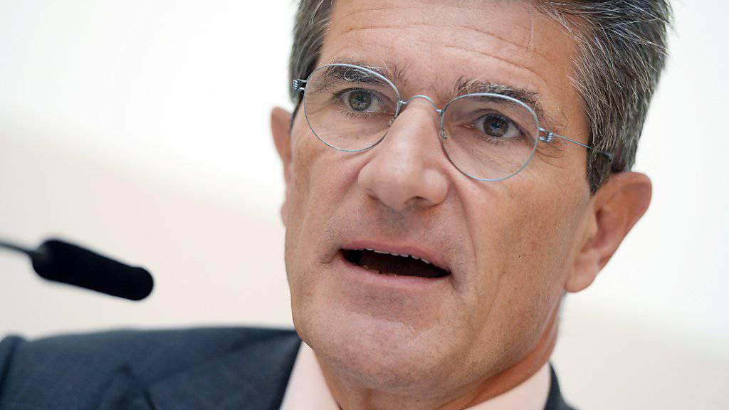 Gibt sein Amt nach sieben Jahren ab: Patrick Odier, Präsident der Schweizerischen Bankiervereinigung, beklagt die Langsamkeit des Schweizer Gesetzgebungsprozesses. (Archivbild)
