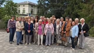 Unternehmungslustigen Frauen des Frauenvereins Kappel-Boningen