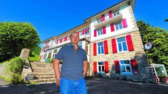 Gute Zeiten: Zwar suchte Olivier Lucy schon im Juli einen Käufer für das Kurhaus – von Konkurs war aber keine Rede. Ol