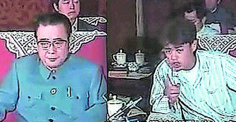 Wu'er Kaixi tritt im Mai 1989 im Pyjama vor die TV-Kameras und weist Chinas damaligen Ministerpräsidenten Li Peng zurecht.