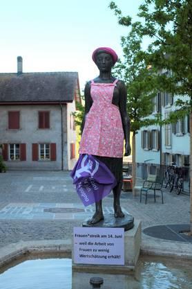Die Marktfrau beim Oberen Graben.