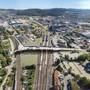 Die Winterthurer Stimmbevölkerung gibt grünes Licht für ein Grossprojekt: die Querung Grüze kann gebaut werden.