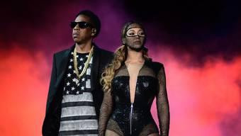 """Das Ehepaar Beyoncé und Jay-Z 2014 auf der gemeinsamen """"On the Run""""-Tournée. Gibt es jetzt eine Neuauflage?"""