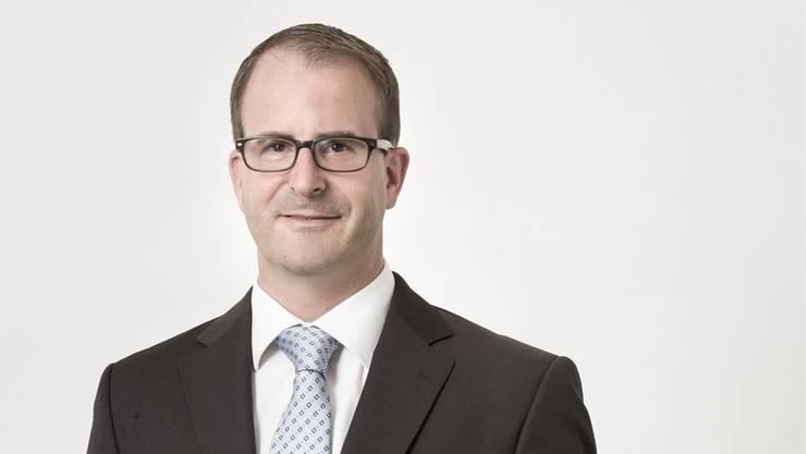 FDP-Politiker Christoph P. Zimmerli