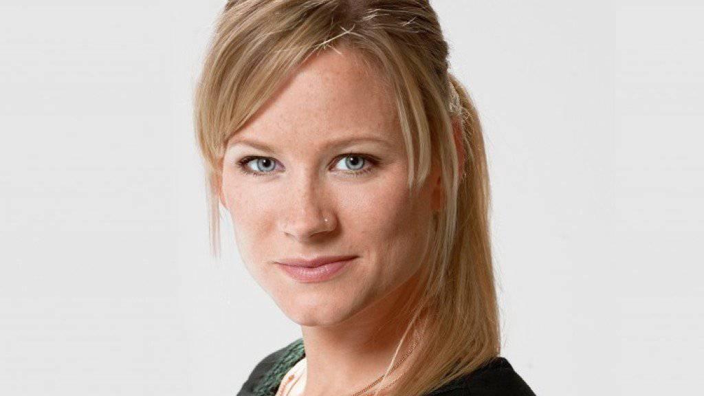 Sie wird nicht müde zu betonen, wie verrückt es ist, drei Kinder zu haben: Und trotzdem freut sich die erneut schwangere Andrea Jansen darauf. (Pressebild SRF)