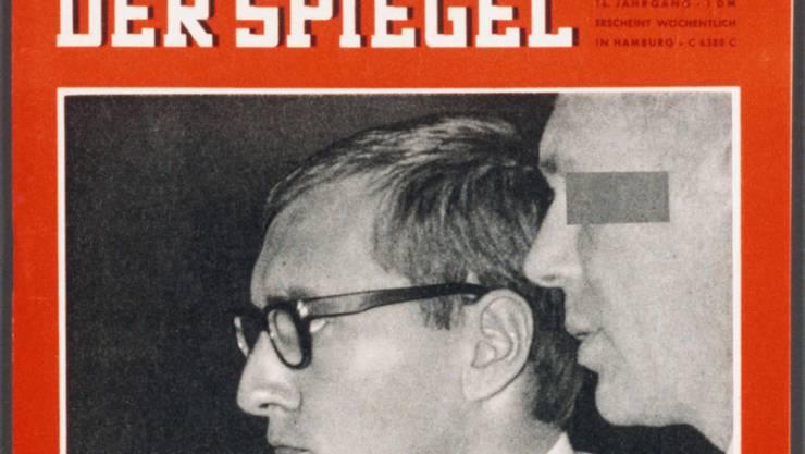 """Magazin-Gründer Rudolf Augstein schätzte den nunmehr verstorbenen ehemaligen Chefredaktor des Magazins """"Spiegel"""", Johannes K. Engel, sehr. (Archivbild)"""