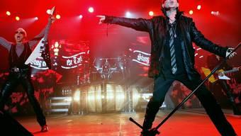 """Von den Scorpions stammt der Wende-Hit """"Wind of Change"""" (Archiv)"""