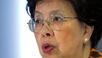 WHO-Chefin Margaret Chan am Mittwoch in Washington