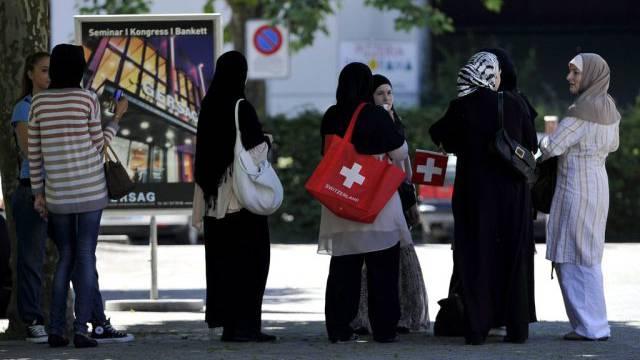 Mitglieder der Vereinigung der Islamischen Jugend Schweiz (Archiv)