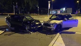 Verkehrsunfall in Villmergen, 27. August 2020