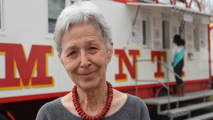 Noch im Alter von 78 Jahren reist Hildegard Muntwyler mit dem Circus Monti und ihrer Familie durch die halbe Schweiz – sie möchte kein anderes Leben. aw