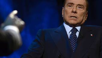 Italiens Ex-Ministerpräsident Silvio Berlusconi (Archiv)