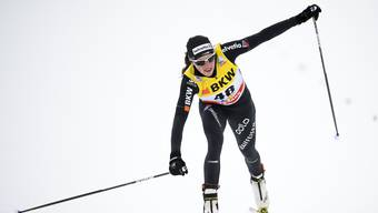 Nathalie von Siebenthal erreichte in Davos mit Platz 5 ihr bisher bestes Resultat im Weltcup.
