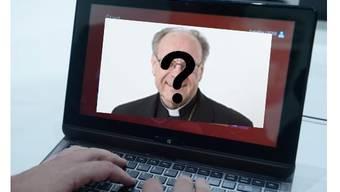 War für zwei Tage nicht im Internet auffindbar: Bischof Huonder.