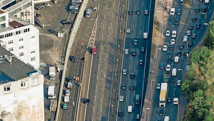 Die Berliner Stadtautobahn wurde am Dienstag zum Tatort: Ein Iraker verletzte 6 Menschen mit seinem Auto.