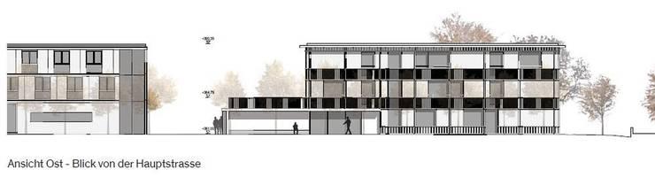 Geplant ist ein dreigeschossiger Neubau unmittelbar beim bestehenden Wohnheim