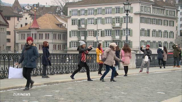 Zürich wird als Reiseziel immer beliebter