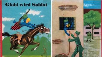 Globi wird Soldat