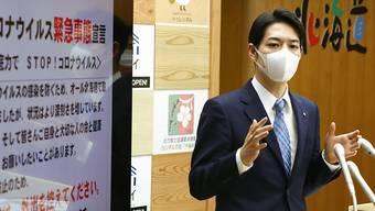 Japans nördliche Region Hokkaido wird laut der Lokalregierung unter Gouverneur Naomichi Suzuki den Ausnahmezustand am heutigen Donnerstag beenden. (Archivbild)
