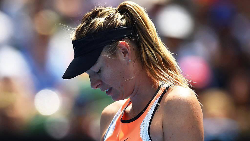 Maria Scharapowa kann auch während der zweijährigen Dopingsperre auf die Unterstützung ihrer Sponsoren zählen