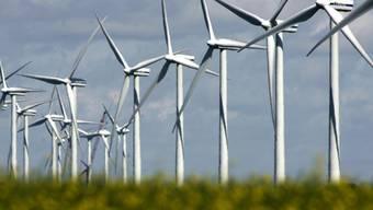 In fünf Aargauer Gebieten sind Windkraftanlagen möglich. (Archiv)