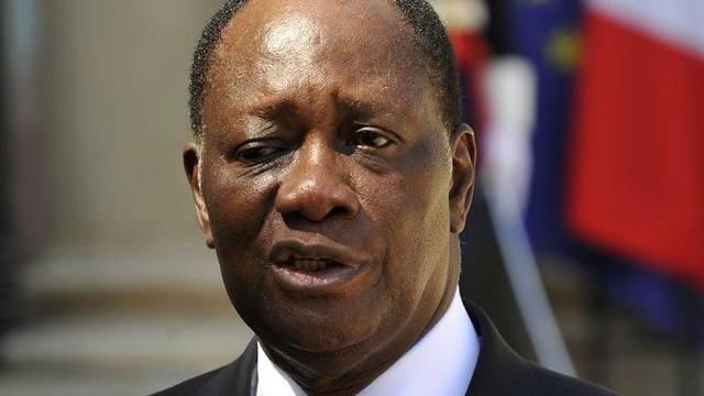 Der Präsident der Elfenbeinküste, Alassane Outtara (Archiv)